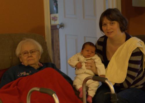 Davis meets Grandma
