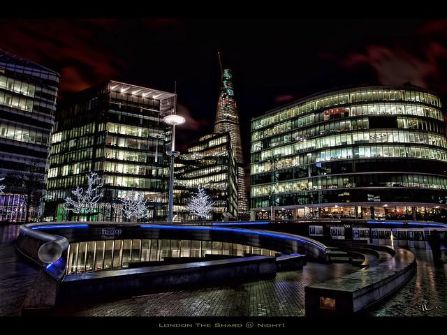 London The Shard @ Night