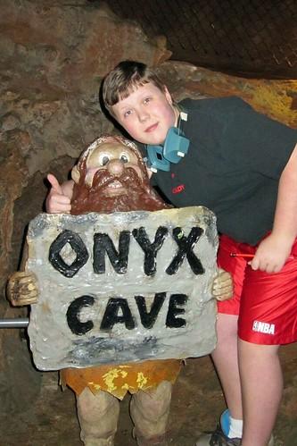 Kelvin at Onyx Cave