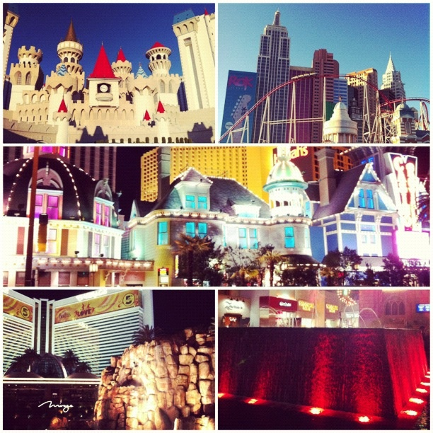 Oh Vegas, so much to see