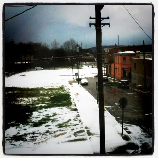 Finally snow!