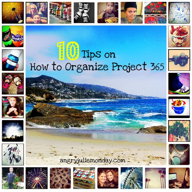 10 Tips on How To Organize Project 365