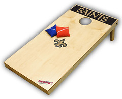 New Orleans Saints Cornhole Boards XL
