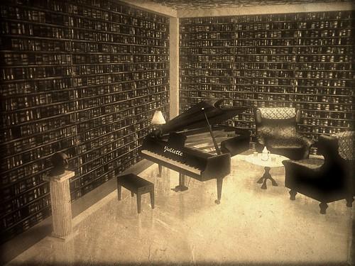 Das alte Musikzimmer