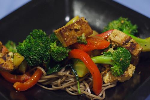 Stir Fry Tofu & Vegetables