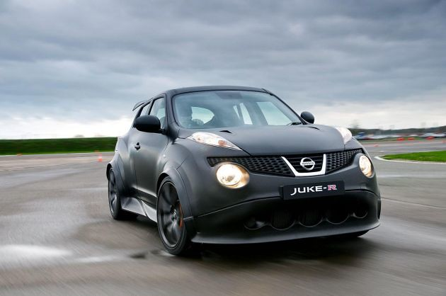 NISSAN CONFIRMS JUKE-R PERFORMANCE STATISTICS