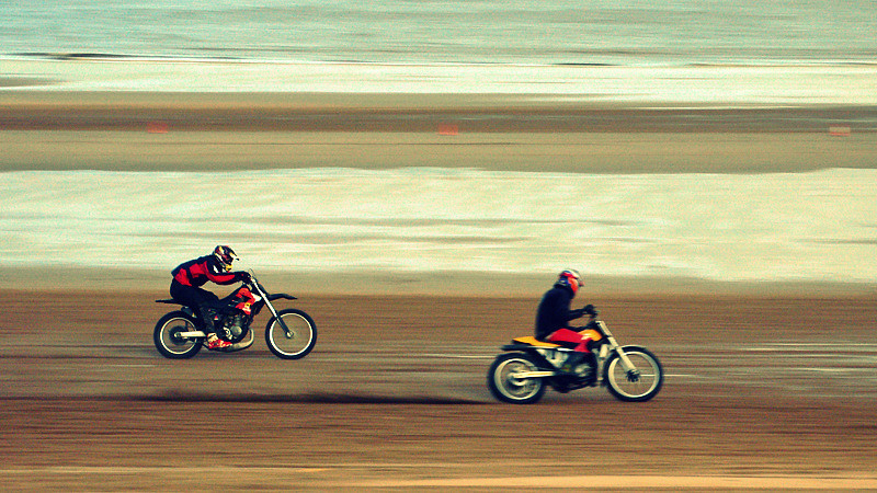 Sand Racing at Mablethorpe