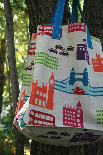 London Echino Bag