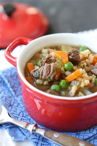 Lean-Bison-Barley-Soup-Recipe-with-Green-Peas-Cookin-Canuck
