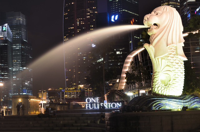Merlion by CC user kewl on Flickr