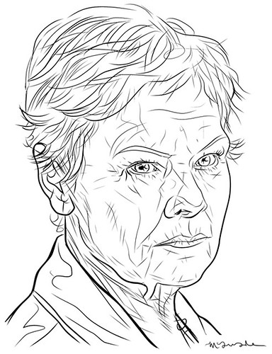 Judi-Dench-by-Patrick-McQuade