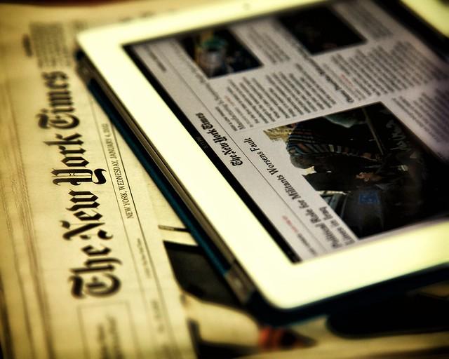 NYTimes iPad app