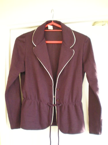 Vintage pruple jacket