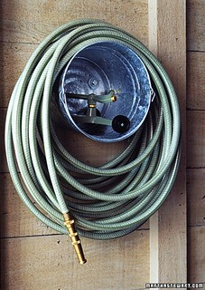 Bucket Hose & Sprinkler Storage