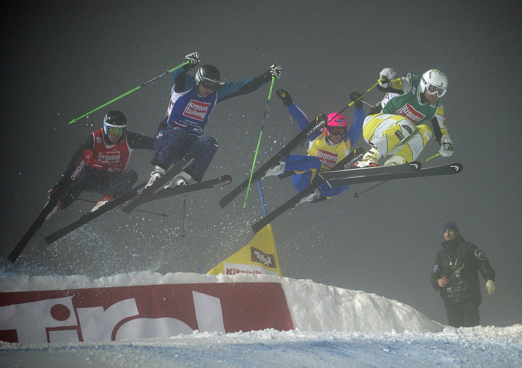 Brady Leman captured a World Cup silver medal in St. Johann, Austria.