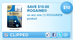 Rogaine Product Coupon