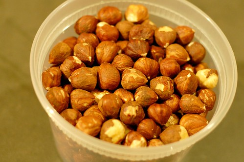 Hazelnuts by Eve Fox, Garden of Eating blog, copyright 2012
