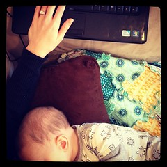 "Daily routine: working in my ""office."" #day9 #janphotoaday"