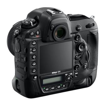 Nikon D4-back-side