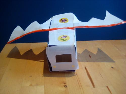 make a Zhu Zhu pet car