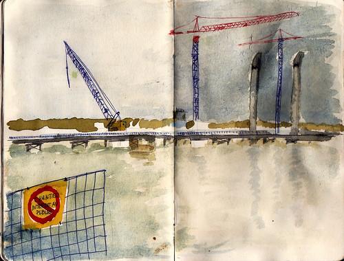 Pont Bacalan, Bordeaux  ( en construcción )