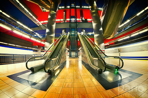 Staircase@Chamartin Metro Station (Explored)