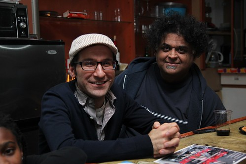 Talkies in Toronto organizers Mark Cauchi and Azed Majeed.