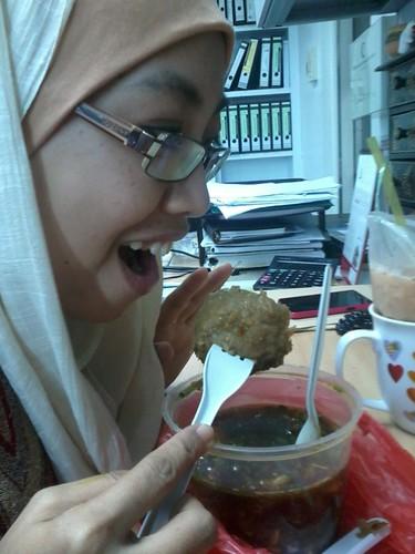 Minum ptg bersama kak hernee by zufik_ita