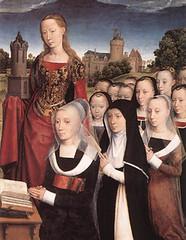 Hans Memling (1484), Familia Moreel, mujeres