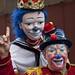 Clown at Three Kings Parade 1 6 12 El Museo del Barrio