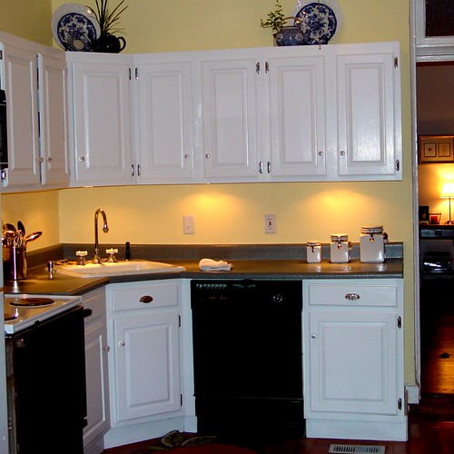 inexpensive kitchen makeover making the most of what
