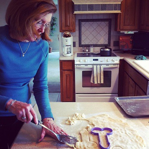 Making penis cookies with Jan. OH YES WE ARE