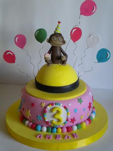 MuyAmeno.com: Tortas de Jorge el Curioso para Fiestas
