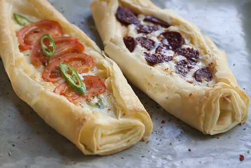 Turkish Phyllo Pizza