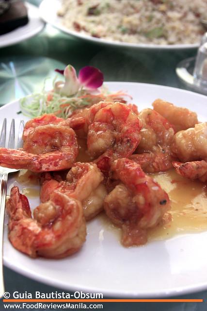 Kirin Baked Prawns in Orange Sauce