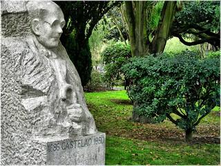 Bilde av Castelao. españa spain coruña europa europe esculturas galicia galiza pedra sculptures piedra acoruña lacoruña galice