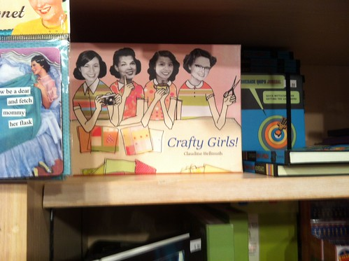 My cards in the visionary art museum gift shop in Baltimore!