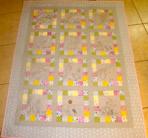 Finished Quilt for Hannah