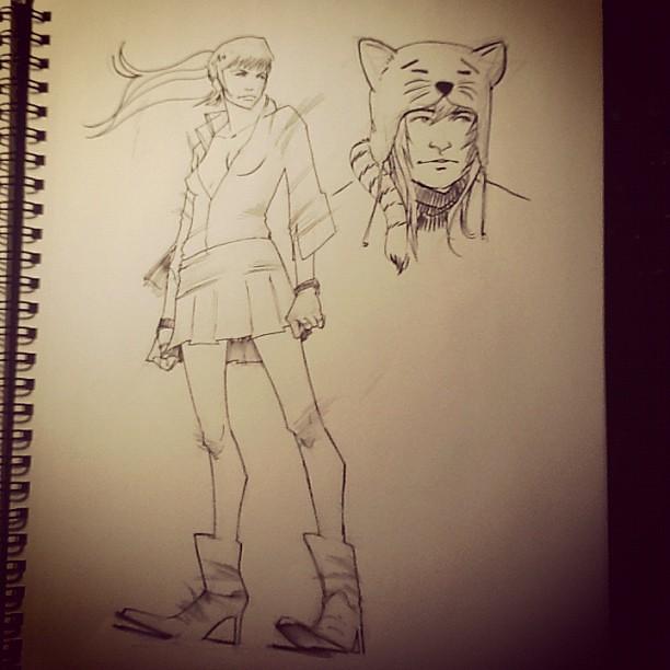 Mo sketching