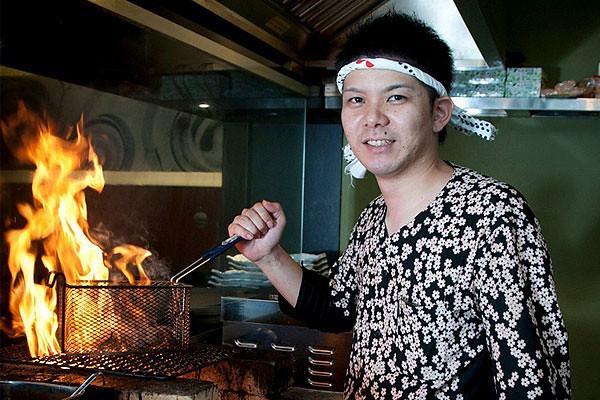 Chef Yoshiharu Inoue