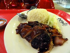 Crispy Duck and BBQ Pork at Lot 10 Hutong