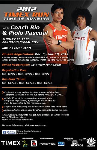 Timex Run Poster
