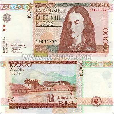 P-453_Colombia_2002_10,000_Pesos
