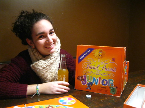 Trivial Pursuit Junior in Slow Train