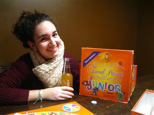 Trivial Pursuit Junior in Slow Train