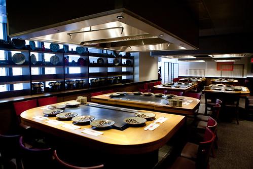 Chef Hiroyuki Sakai at Benihana's Private Event   The ...  Chef Hiroyuki S...