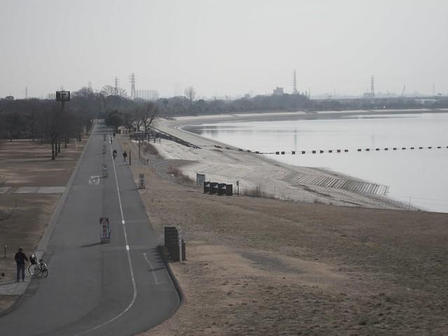 彩湖 周回コース