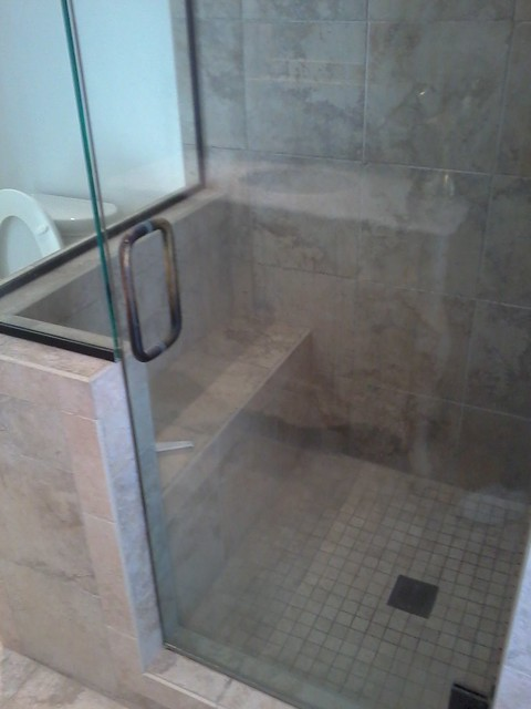 Shower Pan Tile Installation Flickr Photo Sharing