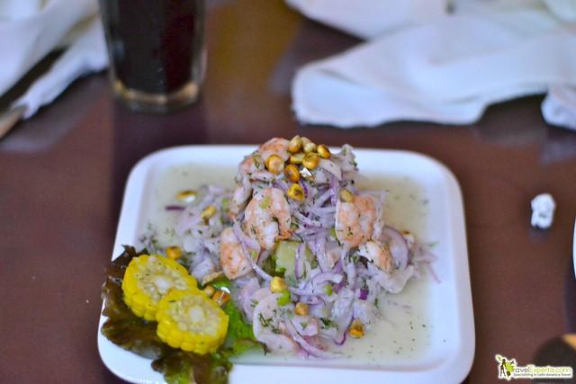 peruvian restaurant antigua guatemala - ceviche