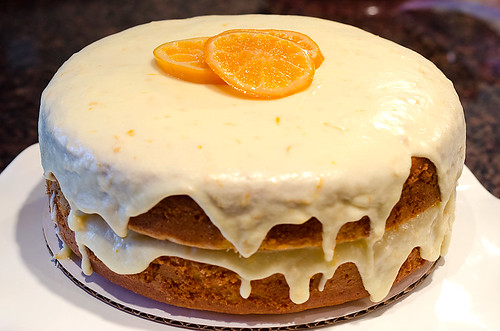 A Special Celebration and a Glazed Clementine Cake ...